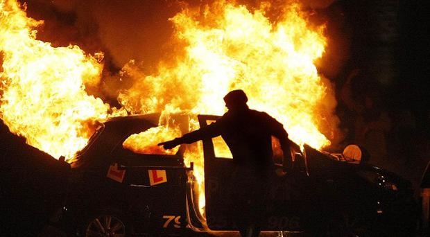 July 12 riots in Belfast cost the PSNI some 1.1 million pounds