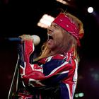Axl Rose walked off the stage in Dublin in 2010 after fans threw plastic glasses at the band because they had arrived 40 minutes late to The O2 in Dublin