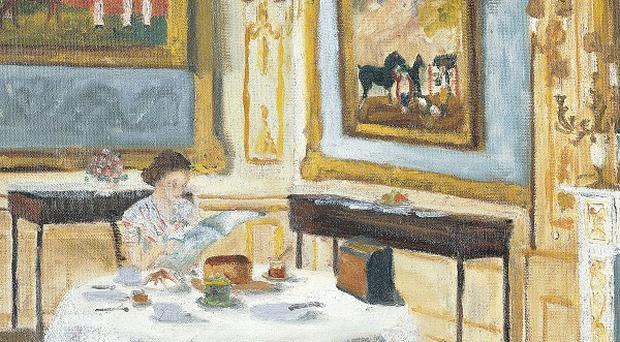 The Duke of Edinburgh's work entitled The Queen at Breakfast (Royal Collection/PA Wire)