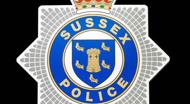Sussex Police are working to identify a body found at a Brighton golf course