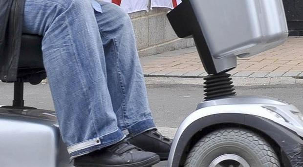 A pensioner on a mobility scooter was run over by a vintage tractor at a country show