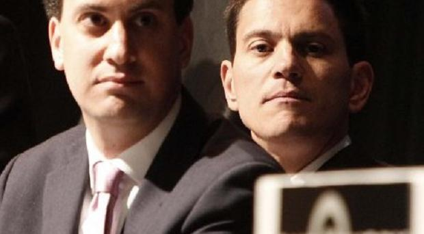 Brothers Ed and David Miliband are the contest's frontrunners