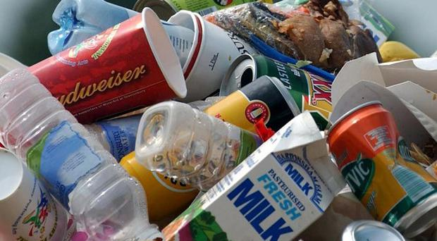 Britain is a nation of wasters who throw out hundreds of pounds of food each year, a survey said.