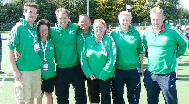Ulster Girls won the gold medal at the UK School Games in Newcastle