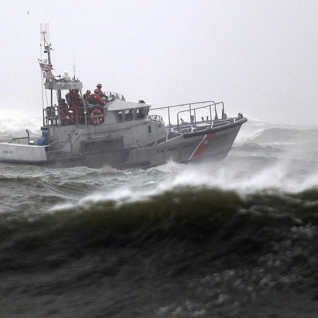 A Coast Guard vessel is seen off the coast of the United States. (AP)