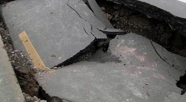 Damage following the earthquake in Christchurch, New Zealand, (AP)