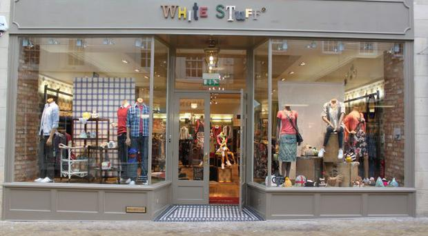 White stuff will employ up to 35 people in its new store in Belfast, due to open next month