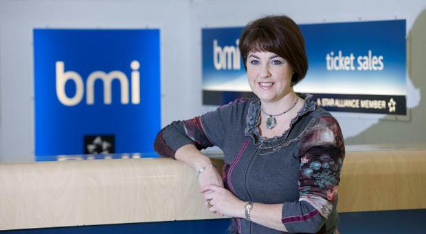 Brenda Morgan who is the new sales manager at bmi
