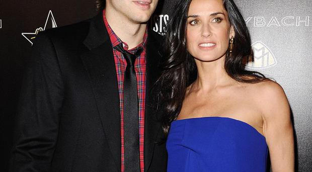 Ashton Kutcher and Demi Moore have been partying in LA