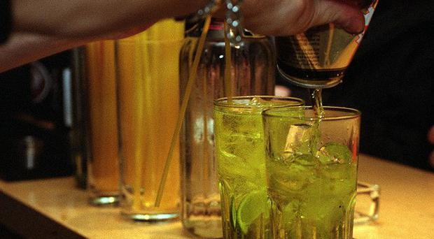 A survey has found more than a third of young adults go out just to get drunk