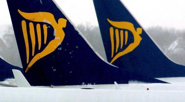 More passengers are flying with budget airlines such as Ryanair