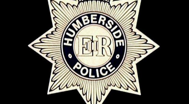 A human foot has been found on the banks of the River Humber, police said