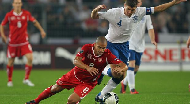 Euro 2012 Qualifier: Switzerland 1 England 3