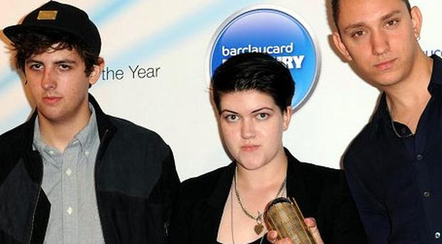Barclaycard Mercury Prize Album of the Year winner The XX