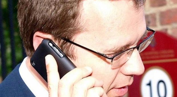 Tory Director of Communications and Planning Andy Coulson