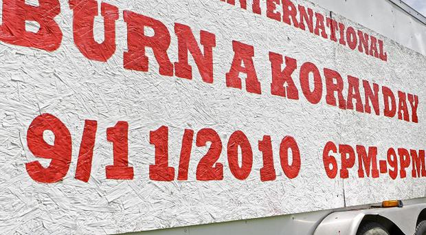 Rev Terry Jones plans to burn copies of the Koran in protest against the September 11 attacks (AP)
