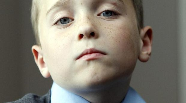 Brendan Shannon found a pipe bomb lying in the playground at his school