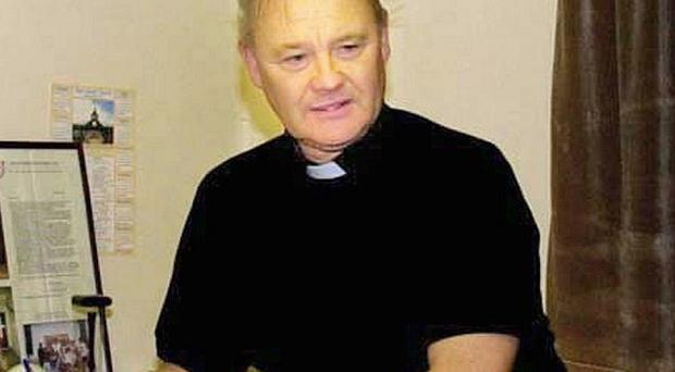 Fr Paddy O'Kane will meet families of dissident republicans who say they have been harassed by police