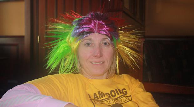 Heather Walsh is looking forward to the Wig Walk