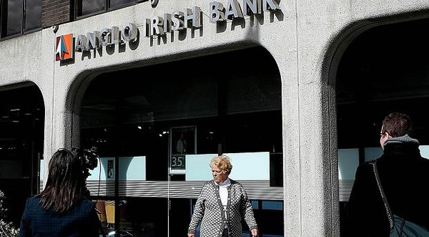 The Anglo-Irish Bank is to be split up, it has been confirmed