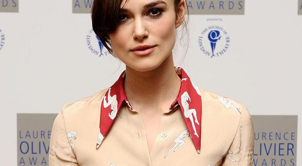 Keira Knightley's latest film will be featured at the festival