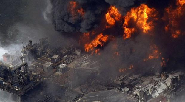 The explosion on the Deepwater Horizon rig in April sparked a massive oil spill in the Gulf of Mexico