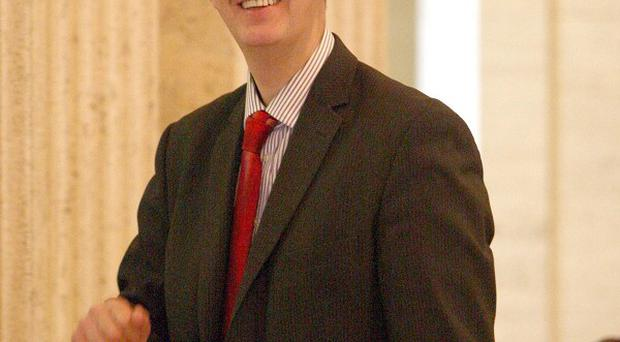 Stormont Environment Minister Edwin Poots backed moves to ship illegal waste back to the Republic