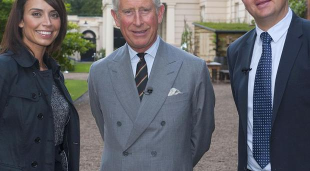Prince Charles said the views of climate change sceptics are 'extraordinary'