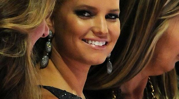 Jessica Simpson was a guest judge for the Project Runway show