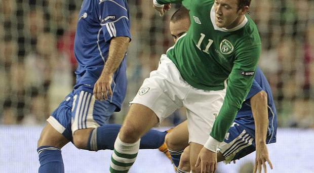 Aiden McGeady (right)