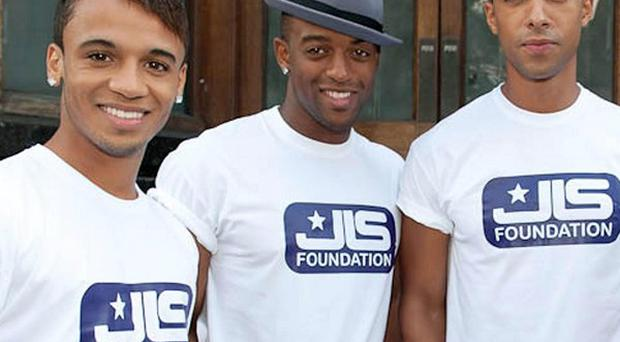 JLS have launched their own brand of condoms