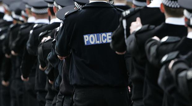 Police Federation warns that cuts to officer levels would be 'Christmas for criminals'