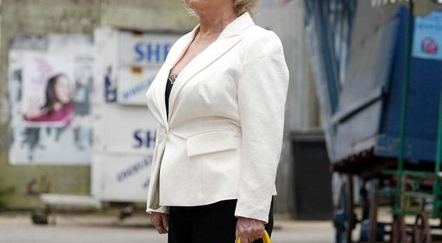 Peggy Mitchell (Barbara Windsor) has left Walford