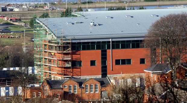 The new MI5 building in Holywood