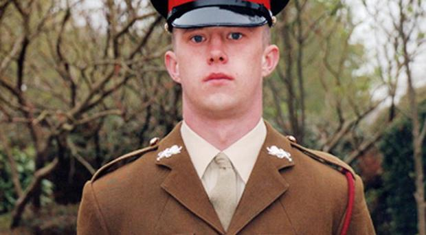 Kingsman Darren Deady of 2nd Battalion, The Duke of Lancaster's Regiment, who died in hospital in the UK