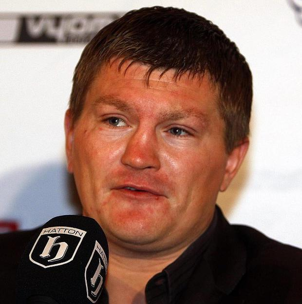 Ricky Hatton is said to be 'devastated and distraught' after being filmed allegedly snorting cocaine