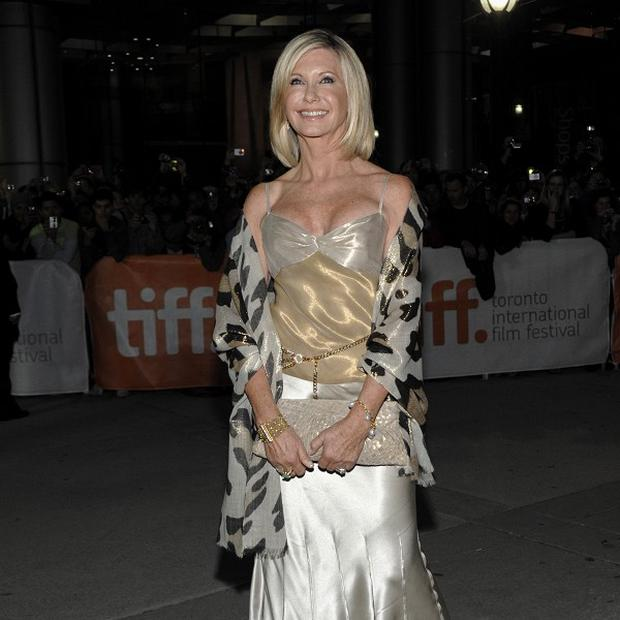 Olivia Newton John's new film opened the Toronto International Film Festival