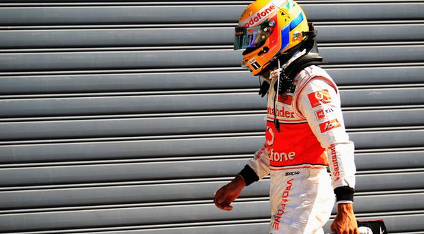 Lewis Hamilton: 'It is mistakes like I made today that lose world championships.'