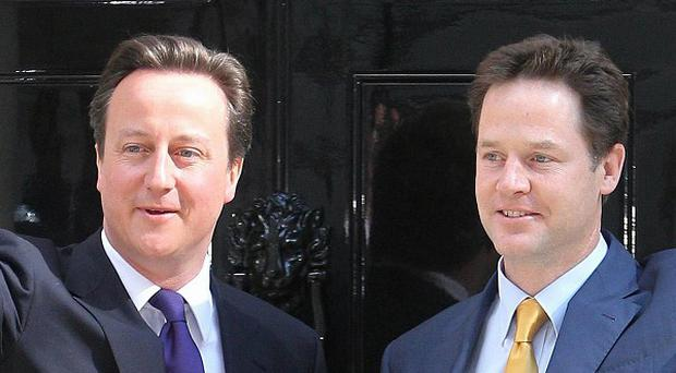 David Cameron's Conservatives and Nick Clegg's Lib Dems are urged to formalise an election pact
