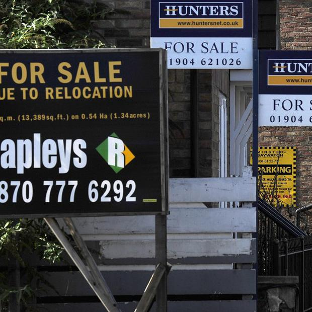 House prices edged lower during August, research indicated