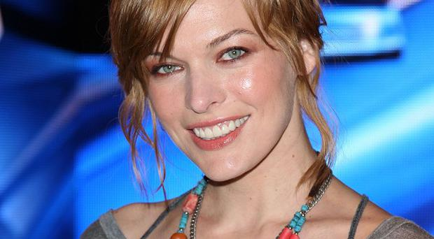 Milla Jovovich says she enjoyed a change in role