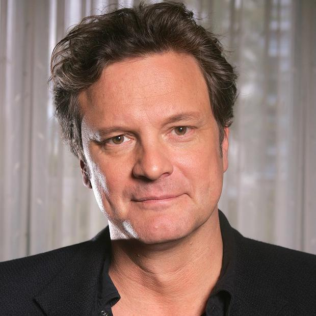 Colin Firth plays the lead in The King's Speech