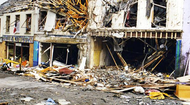 Dissident terror - flashback to the Omagh bomb attack