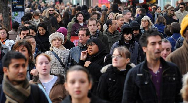 Official figures revealed 286,000 more people had secured jobs