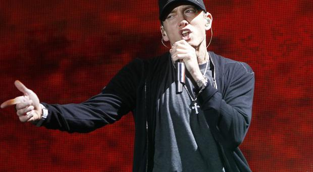 Eminem took to the stage at Yankee Stadium