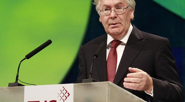 Mervyn King at the TUC conference 2010