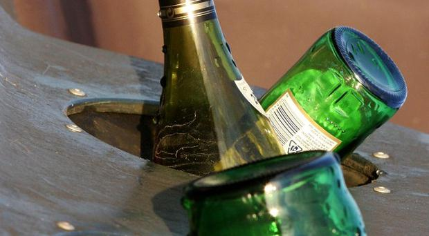A deposit refund scheme for glass and plastic drinks bottles has been suggested