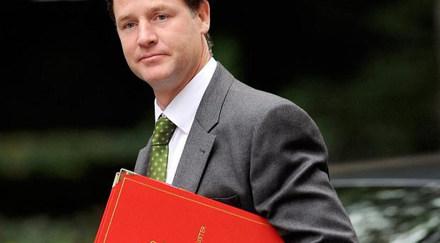 Nick Clegg issued a staunch defence of the coalition's planned welfare benefit cuts