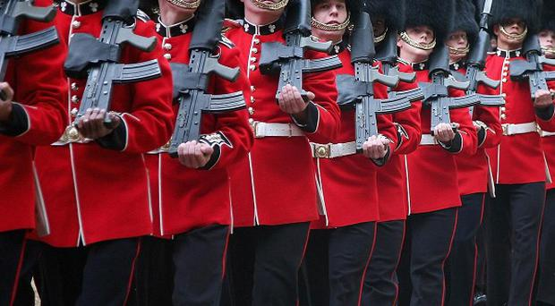 Replacing ceremonial uniforms for the Army's guards regiments has cost more than 4.6 million pounds since 2004