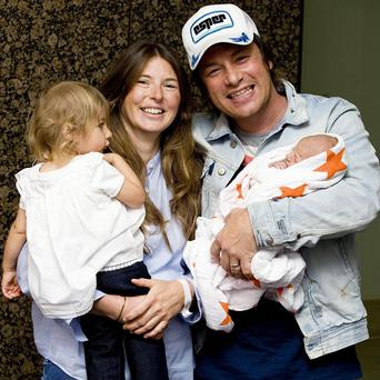 Jamie and Jools Oliver have become parents to a baby boy